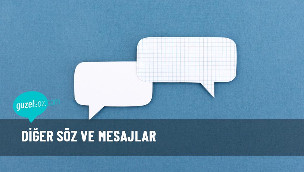 Söz ve Mesajlar