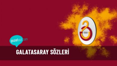 Photo of Galatasaray Sözleri