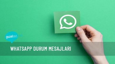 Photo of WhatsApp Durum Mesajları