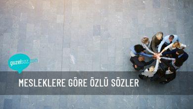 Photo of Mesleklere Göre Özlü Sözler