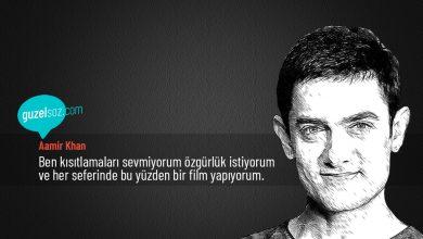 Photo of Aamir Khan Sözleri
