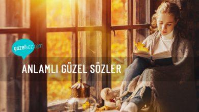 Photo of Anlamlı Güzel Sözler