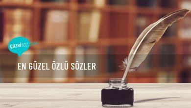 Photo of En Güzel Özlü Sözler