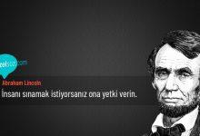Photo of Abraham Lincoln Sözleri