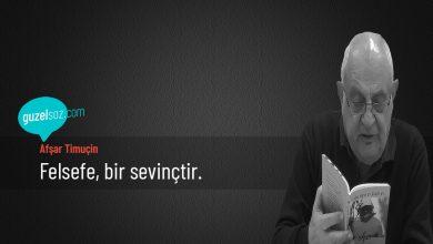 Photo of Afşar Timuçin Sözleri
