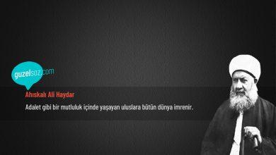 Photo of Ahıskalı Ali Haydar Sözleri