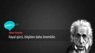 Photo of Albert Einstein Sözleri