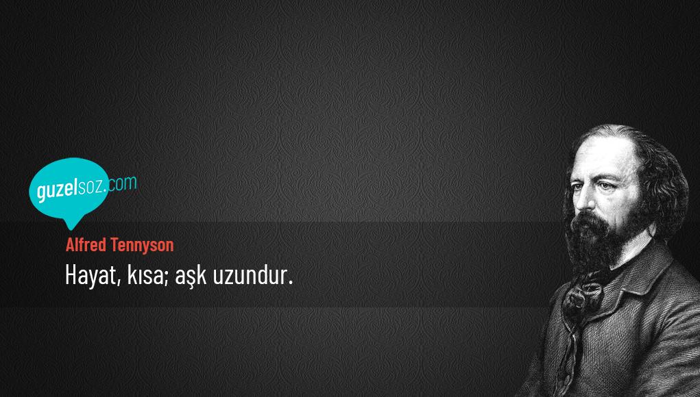 Alfred Tennyson Sözleri