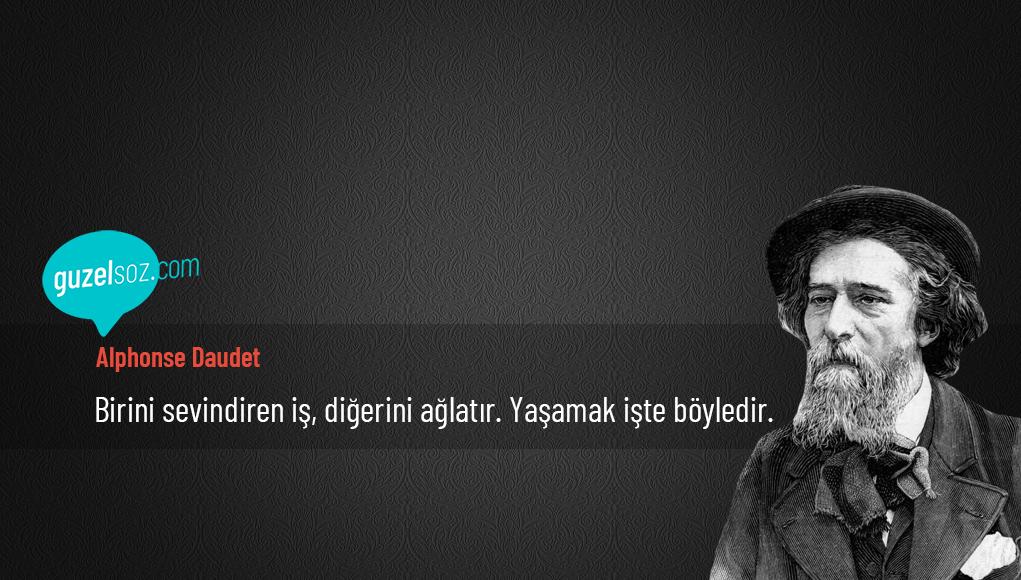 Alphonse Daudet Sözleri