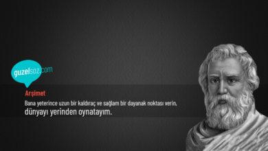 Photo of Arşimet Sözleri