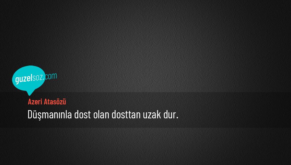 Azeri Atasözü