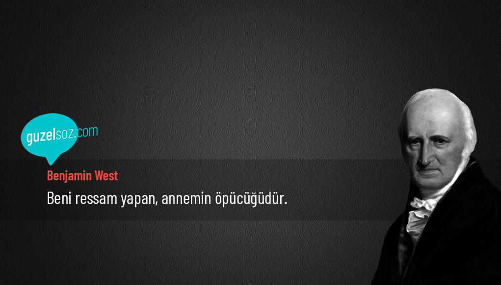 Benjamin West Sözleri