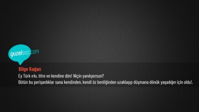 Photo of Bilge Kağan Sözleri