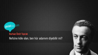 Photo of Burhan Ümit Toprak Sözleri