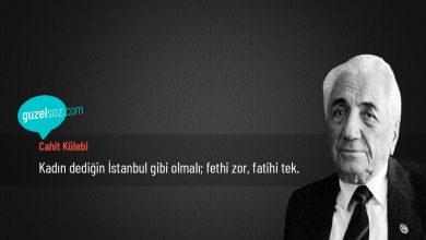 Photo of Cahit Külebi Sözleri