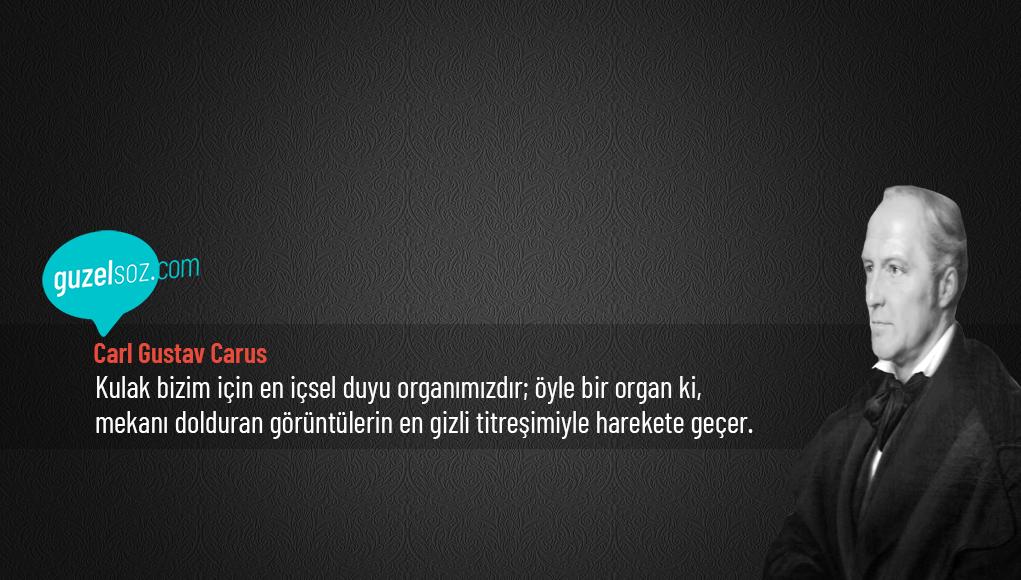 Carl Gustav Carus Sözleri