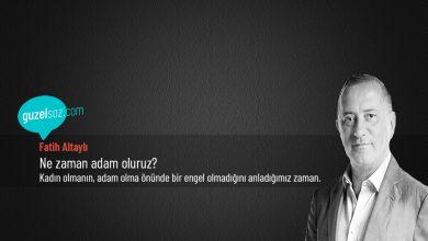 Photo of Fatih Altaylı Sözleri