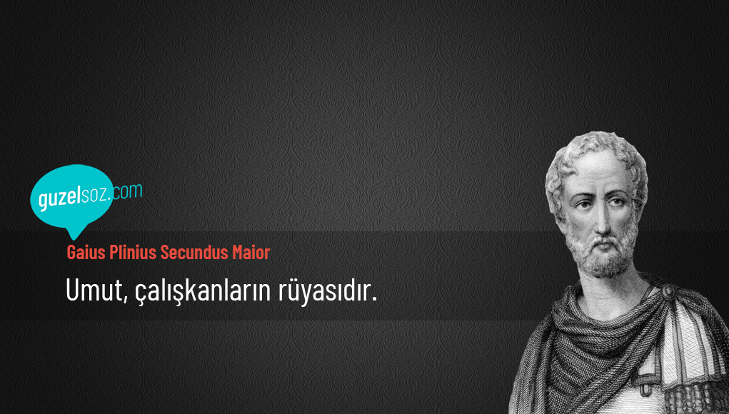 Gaius Plinius Secundus Maior Sözleri