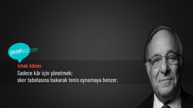 Photo of Ichak Adizes Sözleri