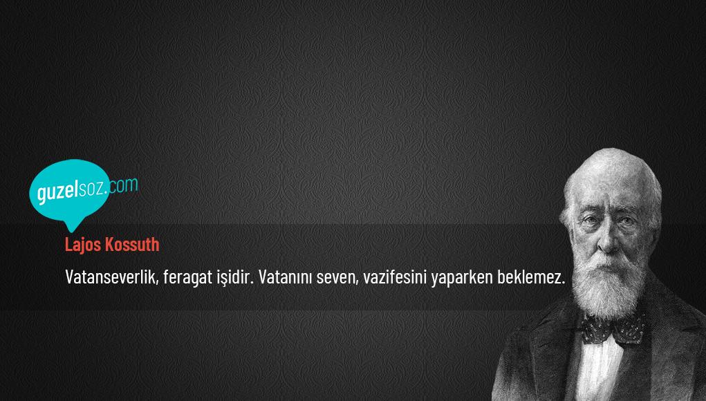 Lajos Kossuth Sözleri