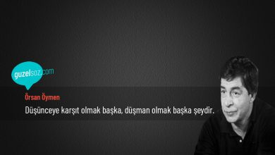 Photo of Örsan Öymen Sözleri
