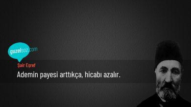 Photo of Şair Eşref Sözleri