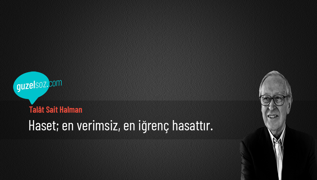 Talât Sait Halman Sözleri