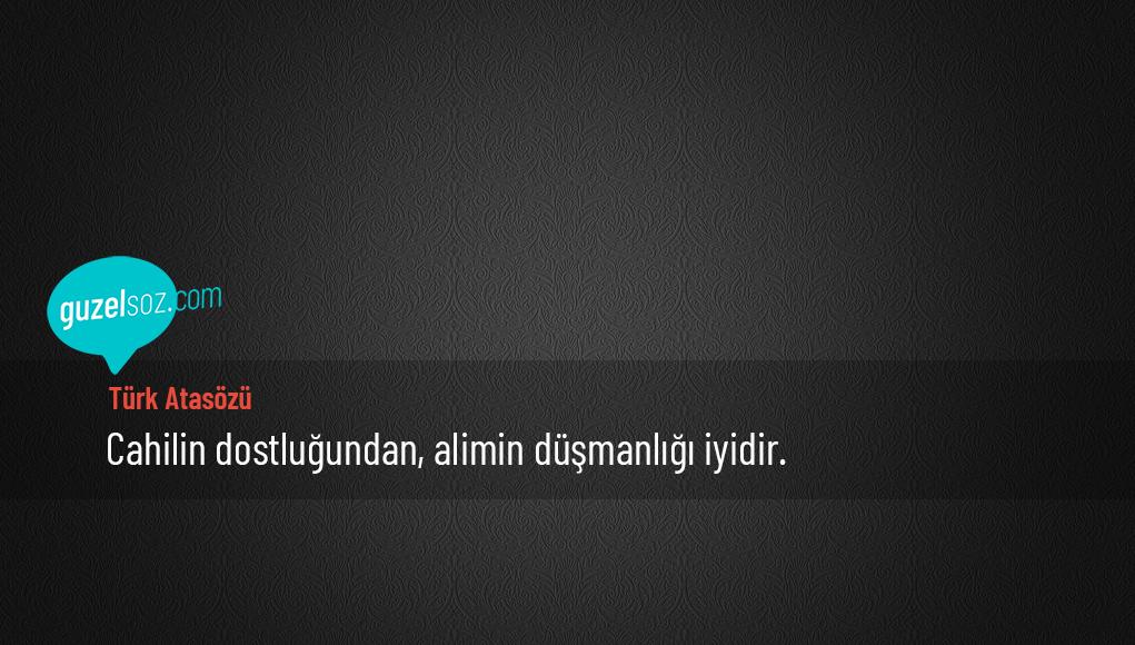 Türk Atasözü