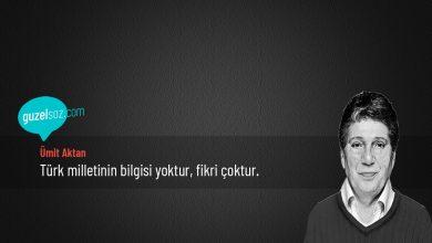 Photo of Ümit Aktan Sözleri