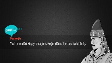 Photo of Dadaloğlu Sözleri