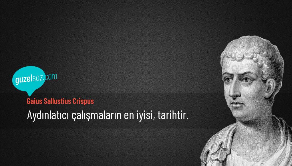 Gaius Sallustius Crispus Sözleri