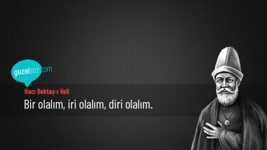 Photo of Hacı Bektaş-ı Velî Sözleri