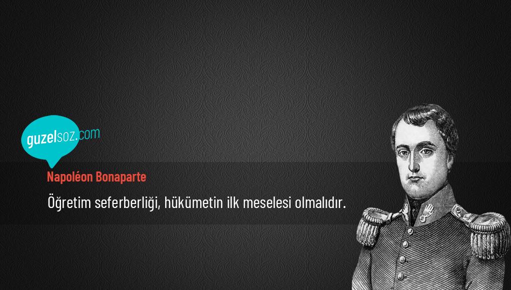 Napoléon Bonaparte Sözleri