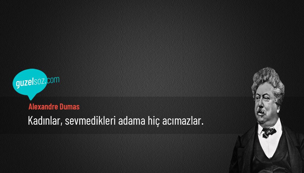 Alexandre Dumas Sözleri